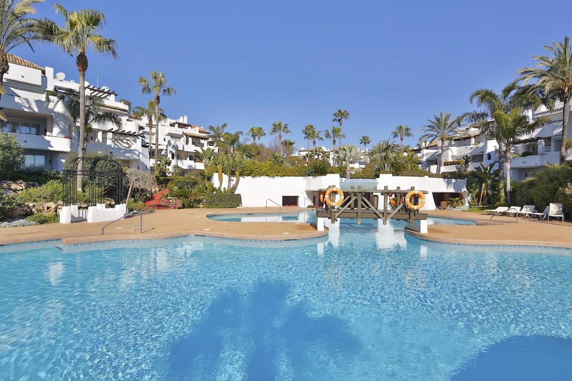 Stunning penthouse located in the exclusive Ventura del Mar beachfront resort, west Puerto Banus. Th,Spain