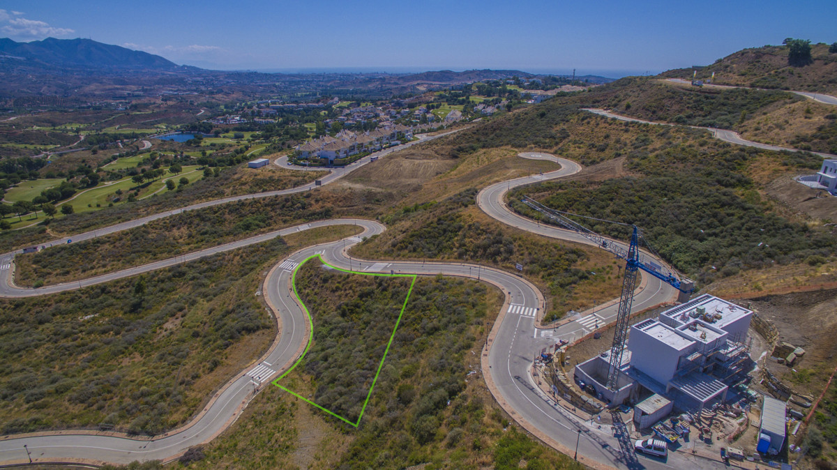 Sector11, Plot8 Residential Plot, La Cala Golf, Costa del Sol. Garden/Plot 1608m².  buildable: 321m2,Spain