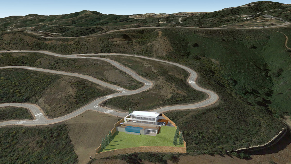 Spectacular sea and mountain views, Includes project (townhall ready). Residential Plot, La Cala Gol,Spain