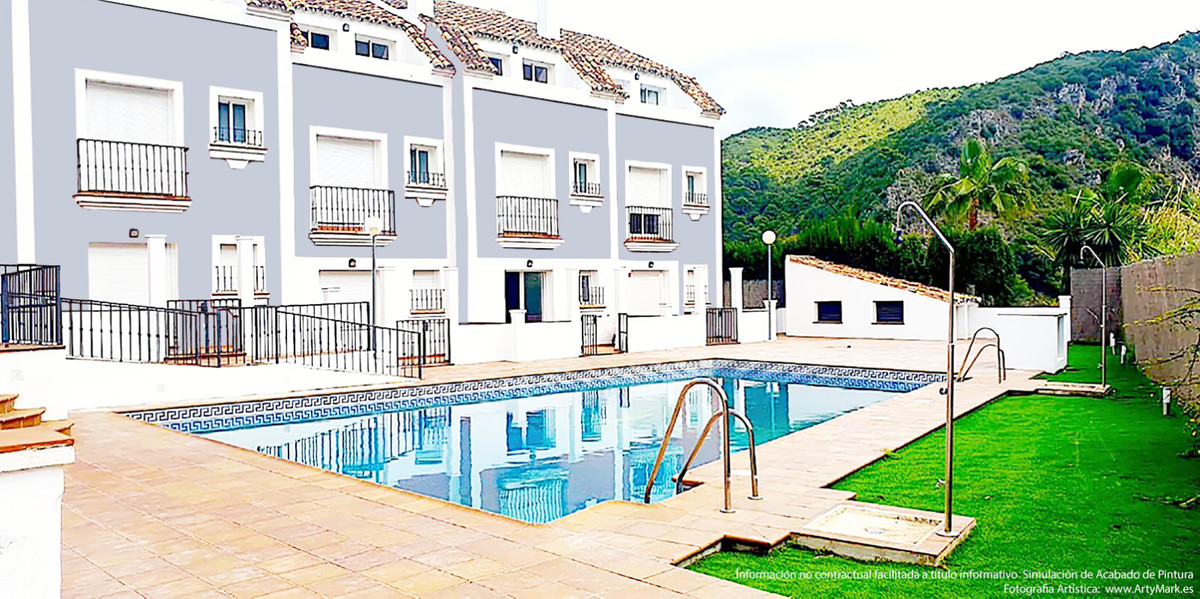 Elegant Homes by the Guadalmina River on Benahavis Village. Benahavi´s is a few minutes from the bea,Spain