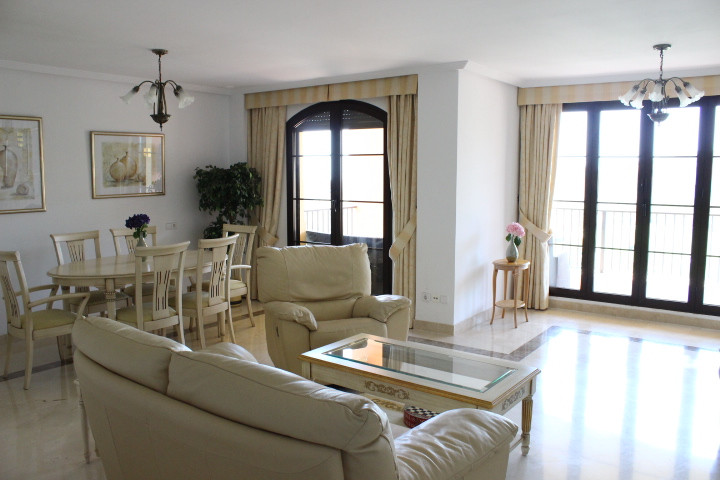 Beautiful apartment in Los Arqueros frontline to the Golf course with panoramic sea view from the bi,Spain