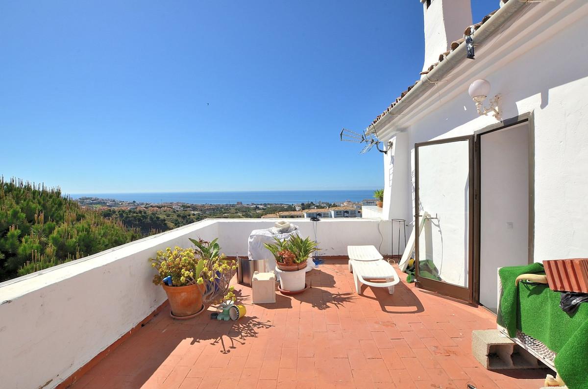 CORNER DUPLEX PENTHOUSE WITH AMAZING SEA VIEWS located in Calahonda (Mijas Costa), in a beautiful ga,Spain