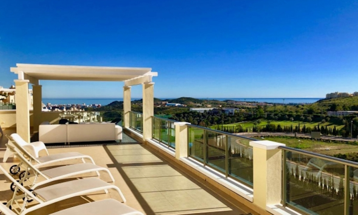 Luxury 2bedroom 2bathroom penthouse in Cerros del Aguila, Arana de Mijas. Corner topfloor penthouse ,Spain