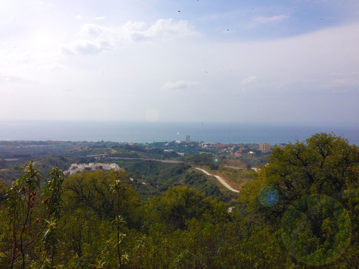 Stunning 180º views, south facing plot. Quite place, 10 min. to Marbella centre, 5 min. to the best ,Spain