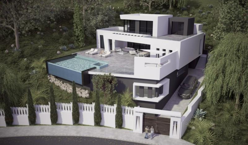 Villa  Independiente en venta   en Altos de los Monteros
