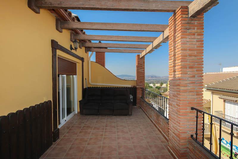Top Floor Apartment in Alhaurín el Grande