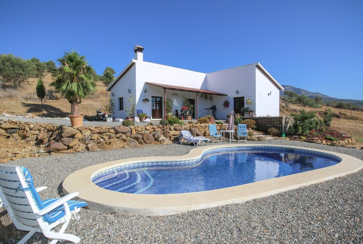Detached Villa with lovely open views.  This detached villa sits in a lovely position on the outskir,Spain