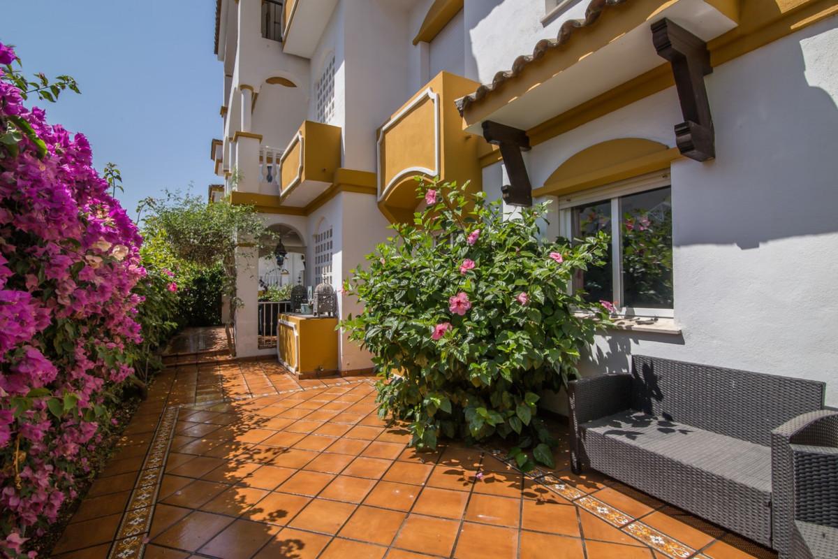 Ground Floor Apartment, The Golden Mile, Costa del Sol. 4 Bedrooms, 2.5 Bathrooms, Built 120 m², Ter,Spain