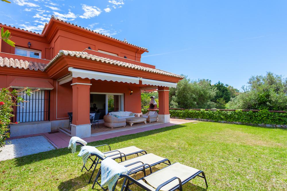 Fantastic Front Line Golf 3 Bedroom 3 Bathroom Corner Semi Detached House with private garden locate,Spain