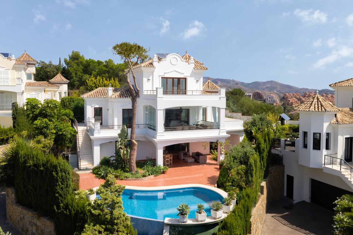 REDUCED TO 1.550,000 EUROS  Stunning 4 Bedroom 4 Bathroom villa located in Elviria, East Marbella wi,Spain