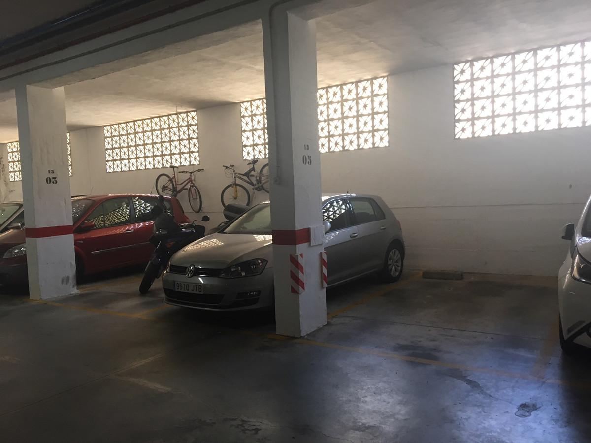 Garage area Huerta Nueva, Estepona. Next to the ambulatory. Easy access.   Garage, Estepona, Costa d,Spain