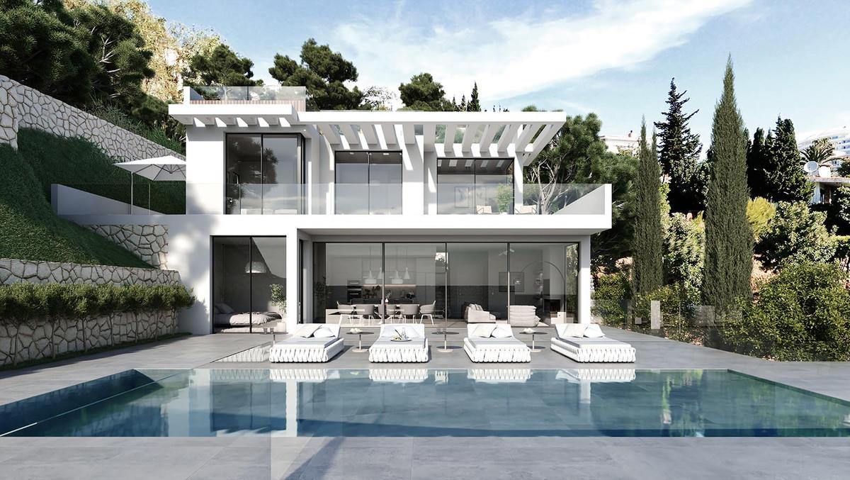 Villa, New Build, off Plan Project. Plot 740 m, Built 492 m2, 4 Bedroom 4 bath Very high Spec and ma,Spain