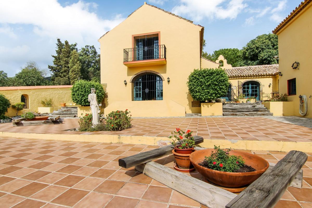 Magnificent Hacienda in heart of the polo area of Sotogrande Beautiful traditional Hacienda in the h,Spain