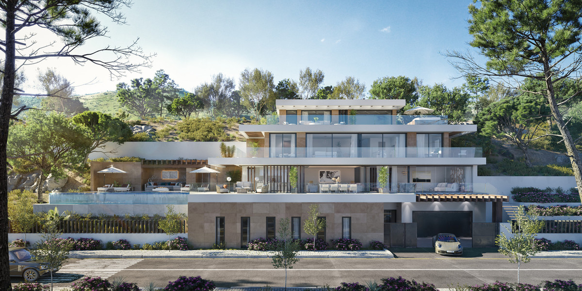 Esta impresionante villa ubicada dentro de La Real Quinta, linda con el entorno natural declarado po,Spain