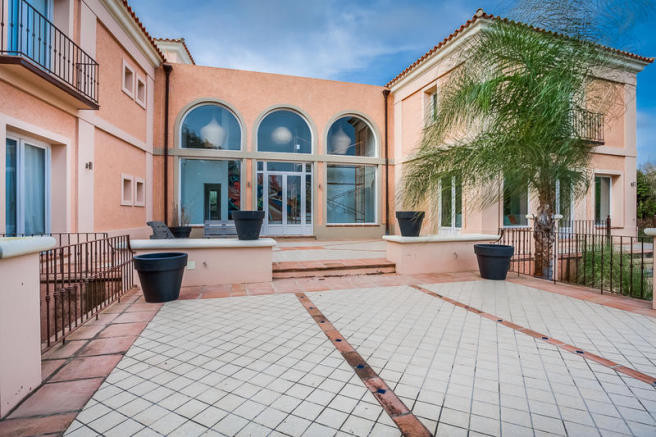 """This elegant """"villa"""" is located at the prestigious area of Sotogrande Alto with magnificent views to,Spain"""
