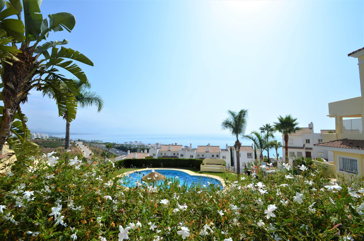 Magnificent ground floor apartment in elevated position with wonderful SEA VIEWS, Good location, mid,Spain