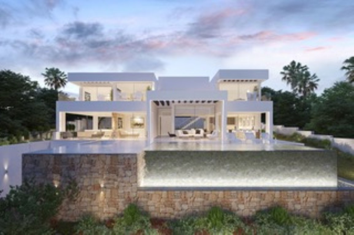 Urban plot with PROJECT INCLUDED of a SINGLE-FAMILY VILLA of CONTEMPORARY style, with the possibilit,Spain