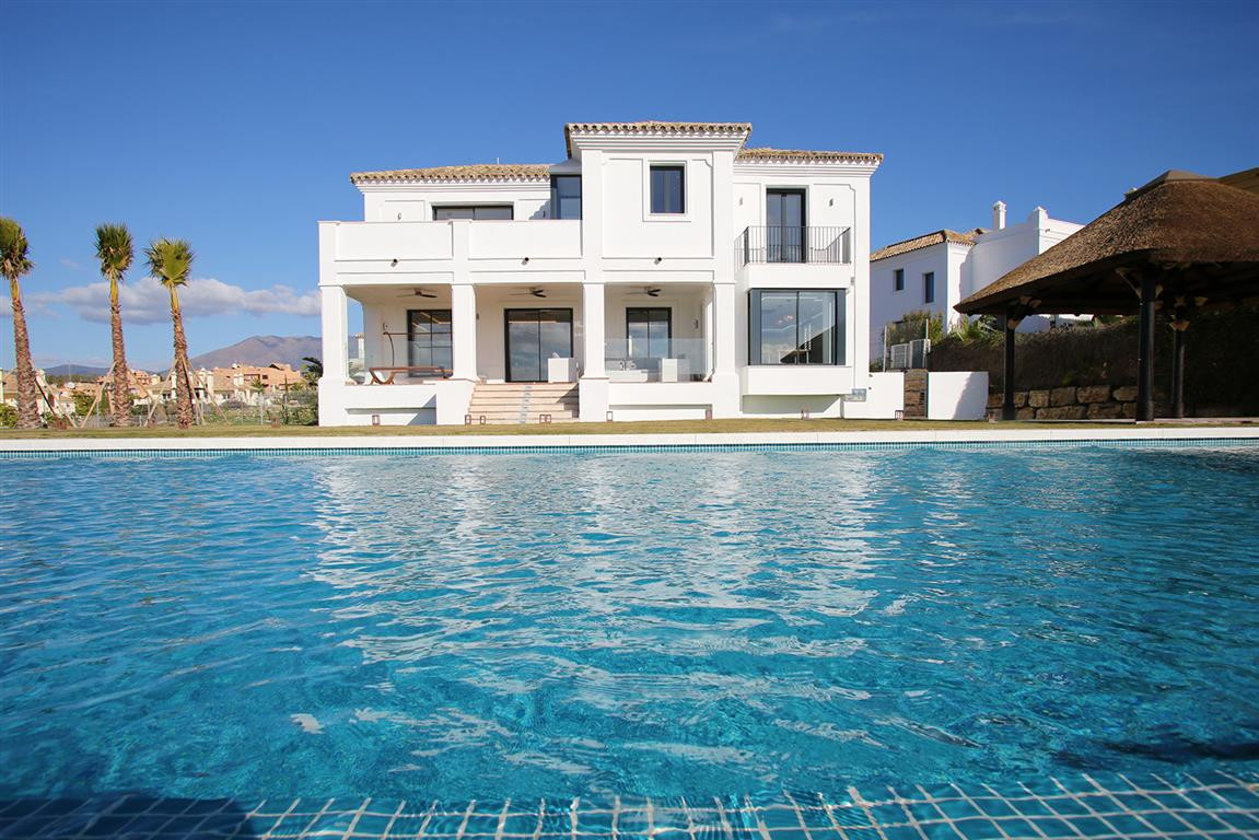 Magnificent brand new  attractive Villa, of beautiful Mediterranean design with excellent distributi,Spain