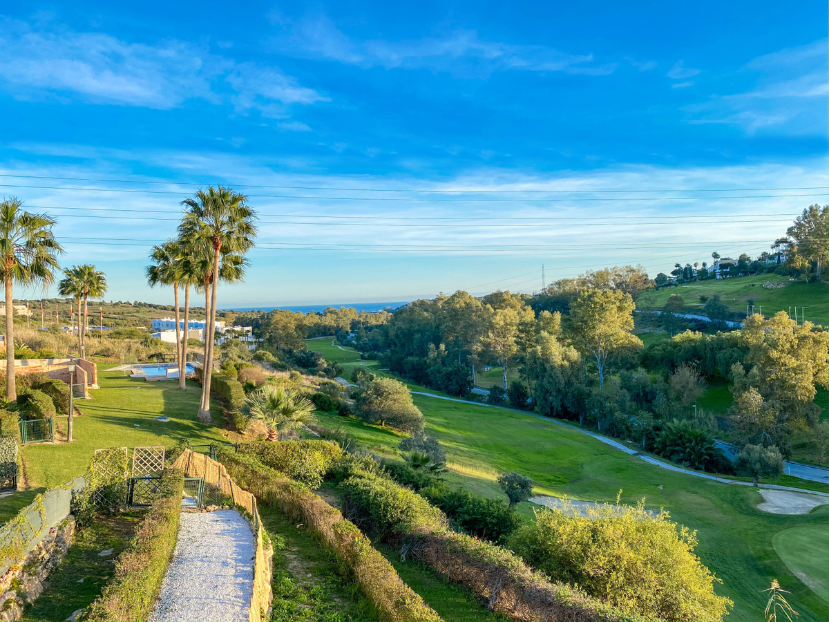 Beautiful semi-detached villa in first golf line, Estepona Golf with spectacular views to the sea an,Spain