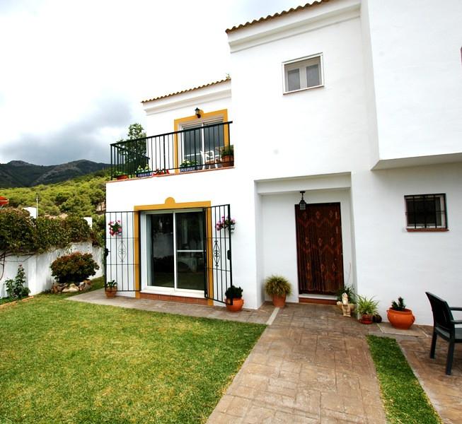 An end of terrace corner Townhouse is in a very quiet area between Benalmadena and Mijas Pueblo. The,Spain