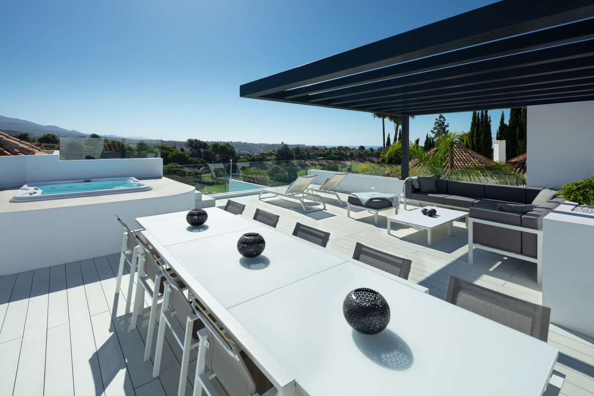 Luxury modern villa with a gorgeous grey and white colour scheme and hi-tech features throughout. Th,Spain