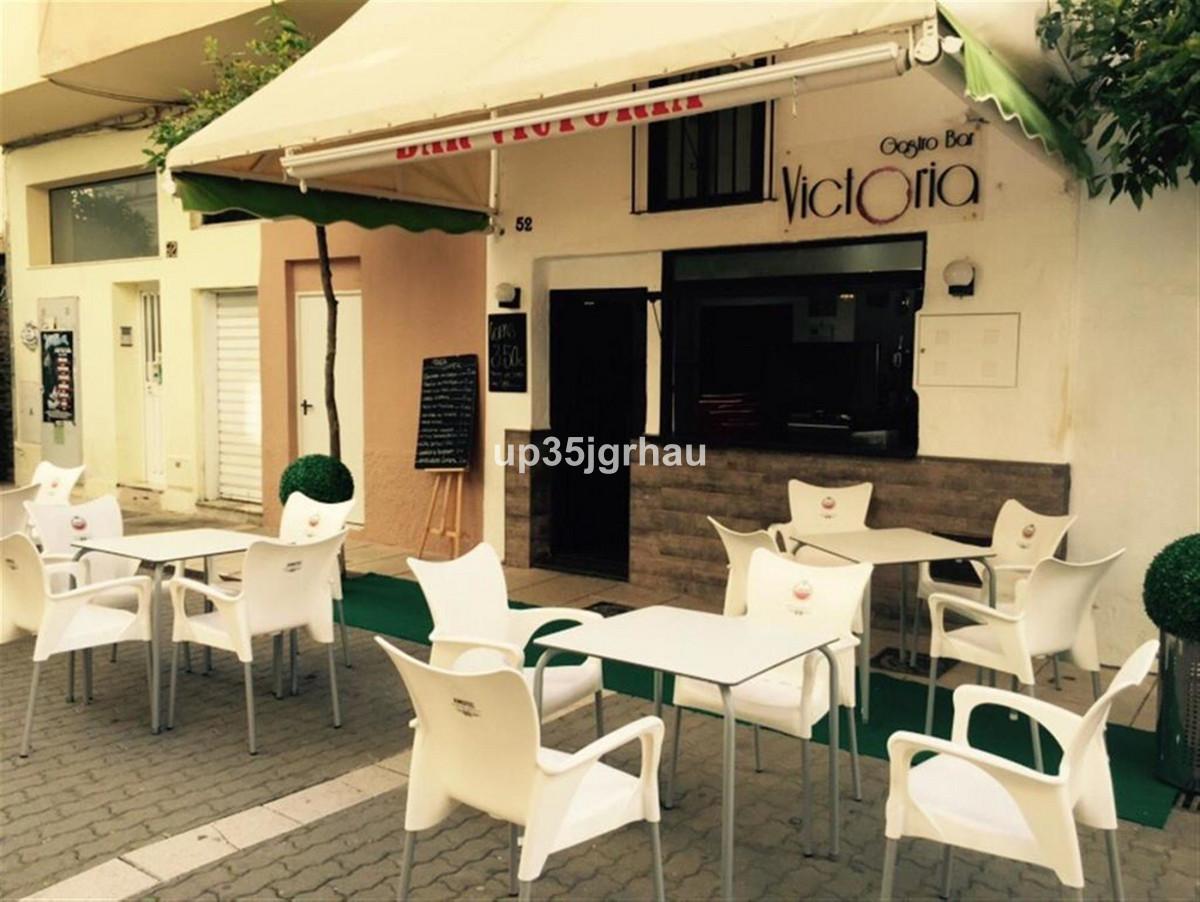 Restaurant, Estepona, Costa del Sol. Built 50 m², Terrace 100 m².  Setting : Village, Close To Shops,Spain
