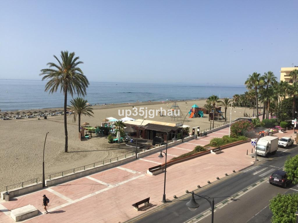 Fantastic apartment in building on 1st line beach in the center of estepona   Middle Floor Apartment,Spain
