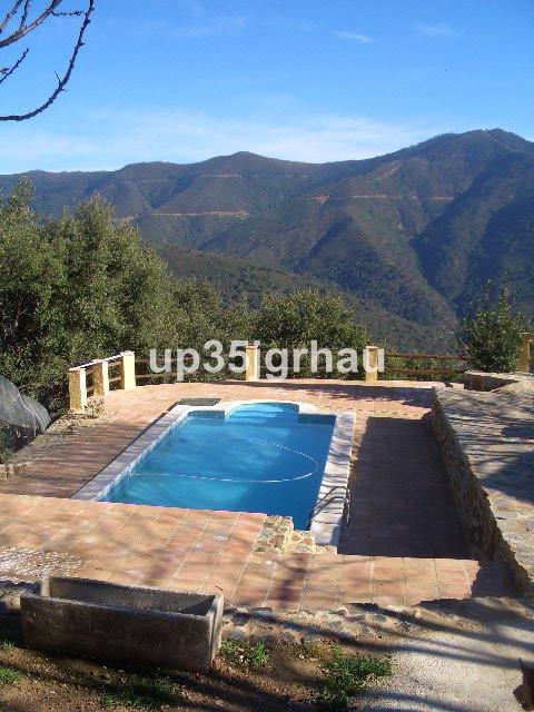 Villa - Finca, Jubrique, Costa del Sol. 3 Bedrooms, 2 Bathrooms, Built 250 m², Terrace 50 m², Garden,Spain