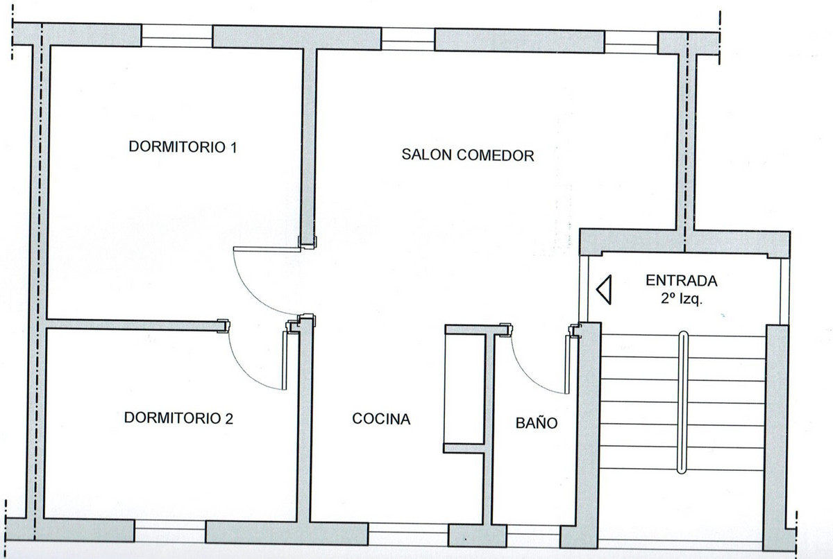 Top Floor Apartment, Estepona, Costa del Sol. 2 Be
