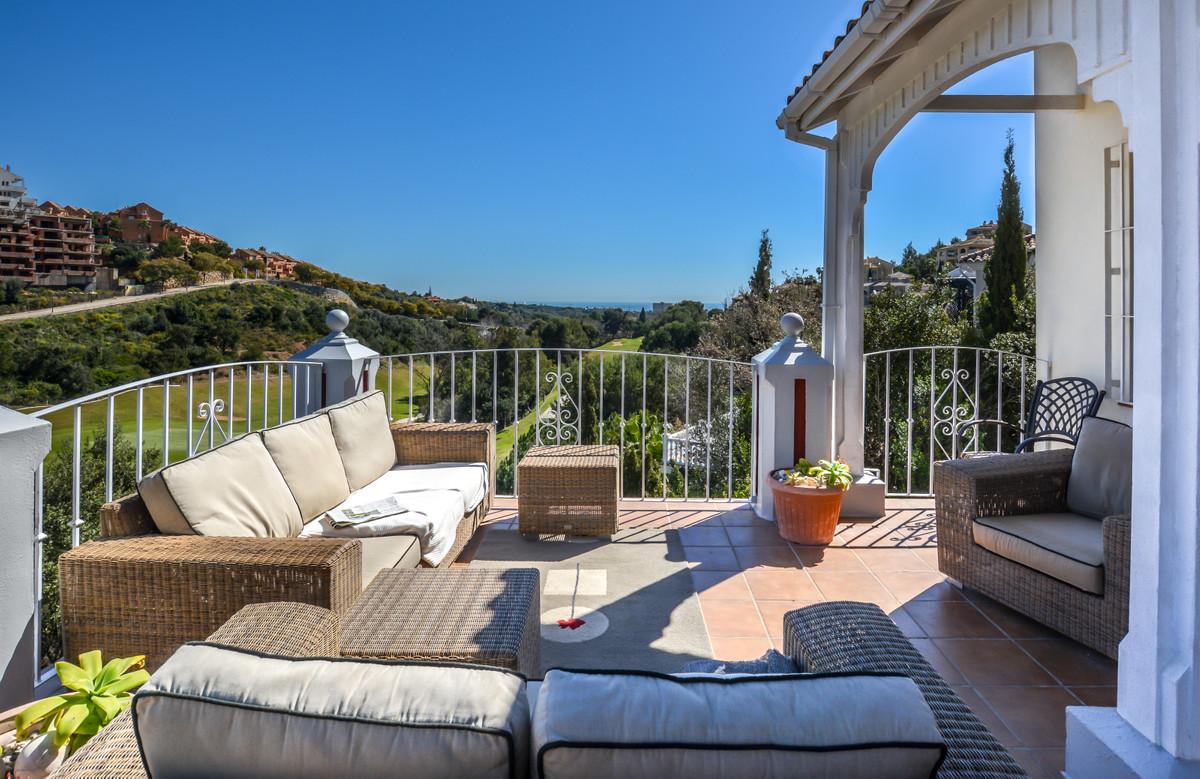 This stunning frontline golf villa set on three levels in Santa Maria, Elviria that has the most ama,Spain