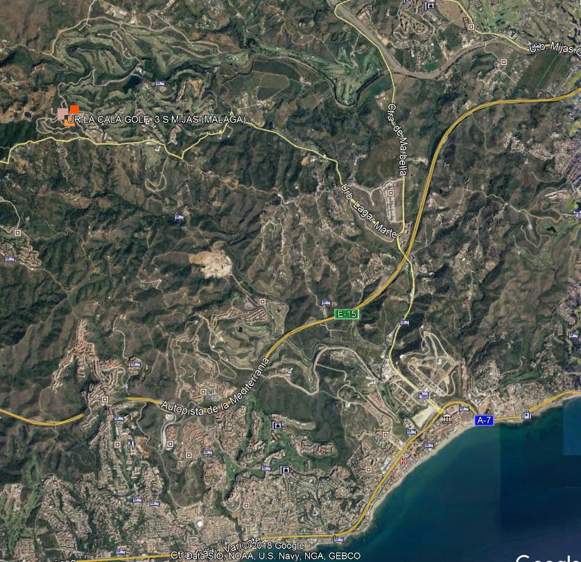 Commercial Plot, La Cala Golf, Costa del Sol. Garden/Plot 4007 m².  Setting : Close To Golf, Close T,Spain