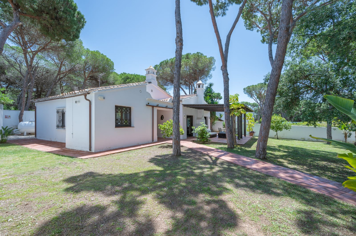Detached villa with extensive private garden in Elviria. This charming house has a large garden on a,Spain