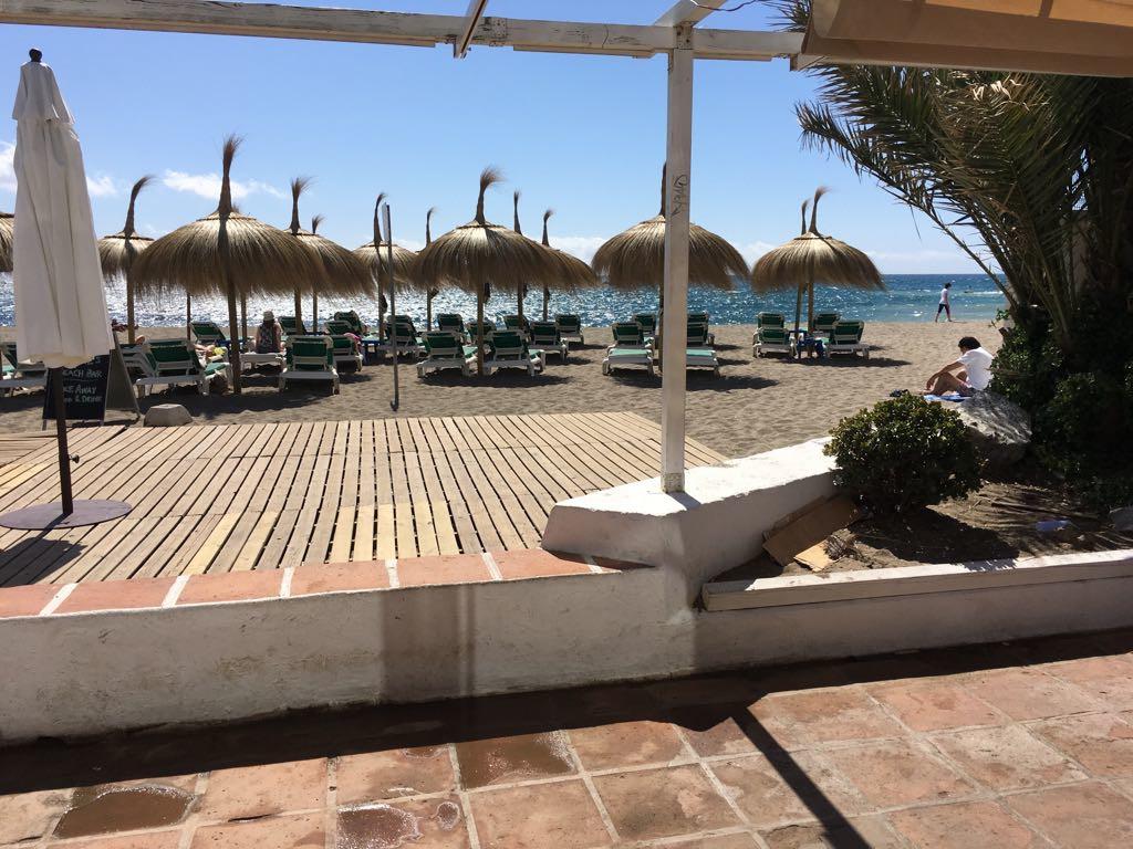concession!!! Bar, Marbella, Costa del Sol. Built 80 m², Terrace 40 m².  Setting : Beachfront, Comme,Spain