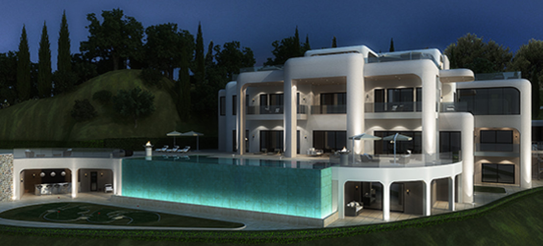 Villa con 10 Dormitorios en Venta La Zagaleta