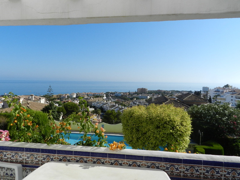 WONDERFUL PANORAMIC VIEWS TO THE SEA can be admired from this TOP FLOOR apartment. 2 bedrooms 1 bath,Spain