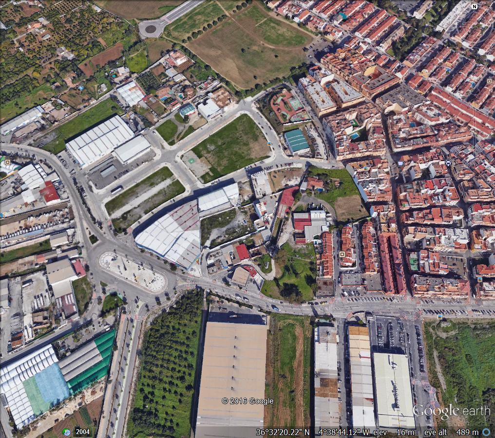COMMERCIAL PLOT IN POLIGONO SAN RAFAEL ,  LAS LAGUNAS MIJAS , PLOT 585 m2 . TO BUILD A WAREHOUSE to ,Spain
