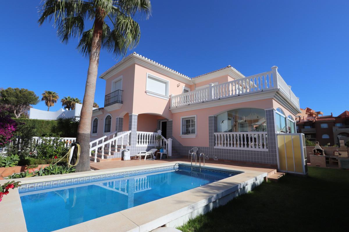 Elegant villa with sea views, located in La Reserva de Marbella a quiet area but a few minutes away ,Spain