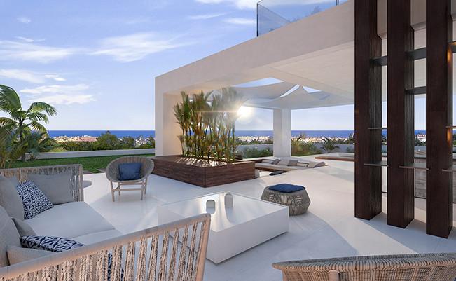 Freistehende Villa in Cancelada