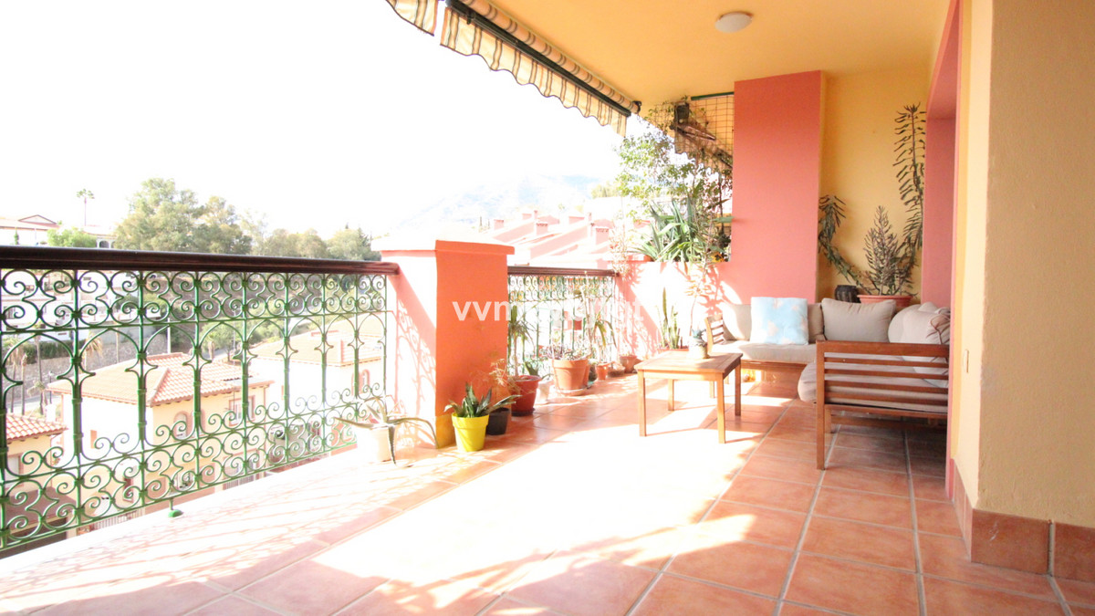 Large 2 bedrooms, beautiful terrace and lovely open views to the west. Located in the upper part of ,Spain