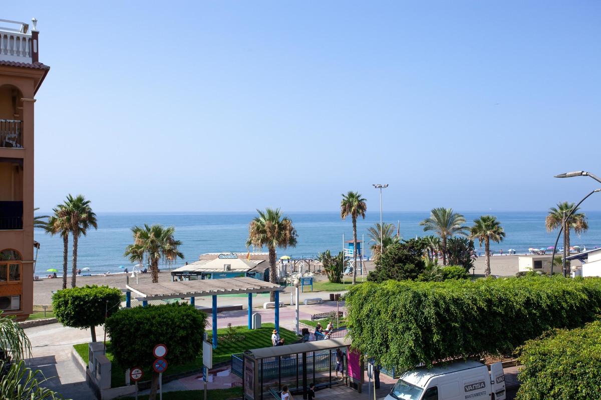 Location, location, location.  Second line beach apatment with seaview in Rincon de La Victoria, the,Spain