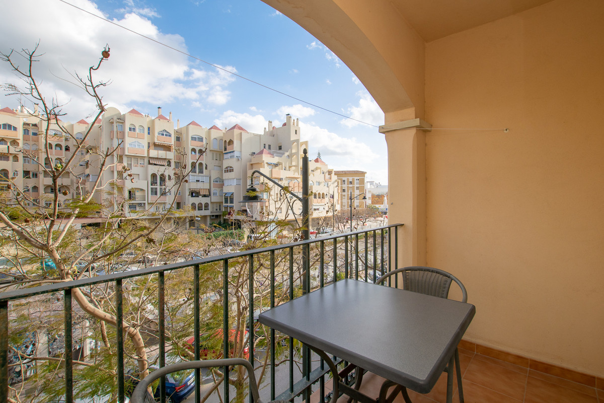 This apartment can be found in one of the most popular areas of the Costa del Sol. The first thing y,Spain