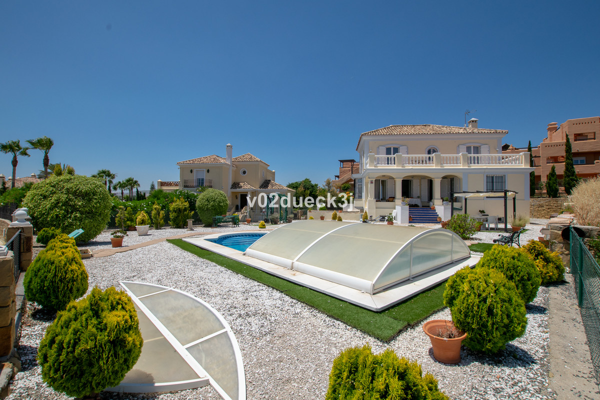 The Andalusian-style villa is situated on a raised plot in the charming area of Majestic Casares, cl,Spain